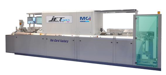 Комплексная струйная система для запечатывания карт MGI JETcard