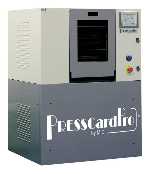 Индустриальный ламинатор MGI PressCardPro